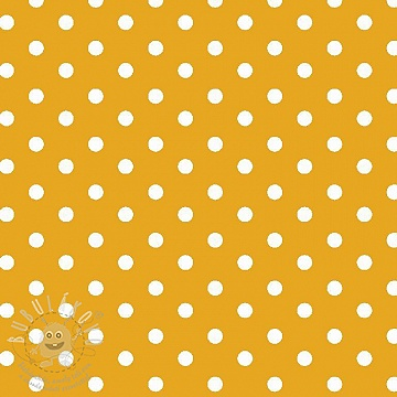 Pamutvászon Dots yellow