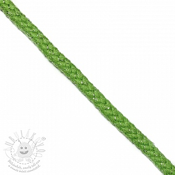 Lurex zsinór 10 mm green