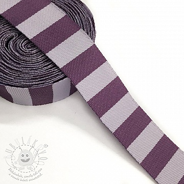 Szalag Stripe purple
