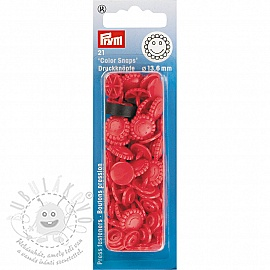 Colorsnaps PRYM Flower red