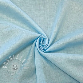 Cotton voile light blue
