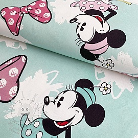 Dekorációs anyag Mickey Mouse Sweet Minnie BIG blue digital print