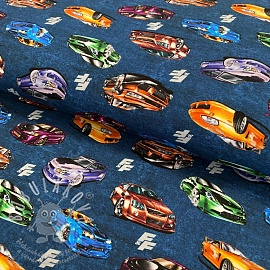 Jersey Fast and Furious Super sports blue shadow digital print