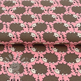Jersey Little Hedgehog Pink