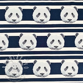 Jersey Panda stripes dark blue