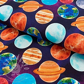 Jersey Planets around us digital print