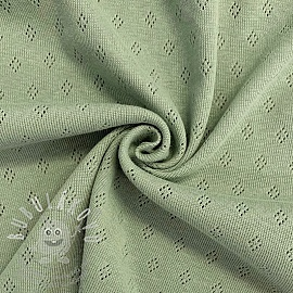 Jersey pointoille green