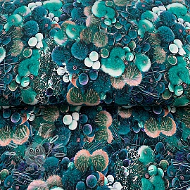 Jerseyi Mix Auva Sea flower digital print