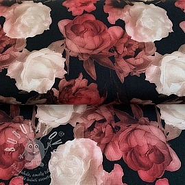 Jerseyi Mix Diadem Roses digital print