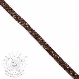 Lurex zsinór 10 mm brown