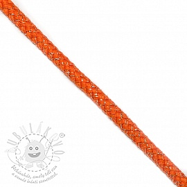 Lurex zsinór 10 mm orange