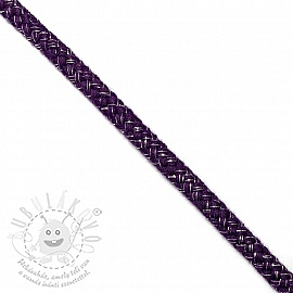 Lurex zsinór 10 mm purple