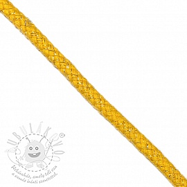 Lurex zsinór 10 mm yellow