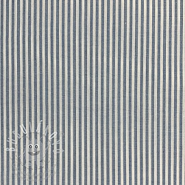 Pamutvászon Stripe blue