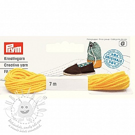 PRYM LOVE cipő cérna yellow