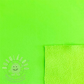 Softshell téli NEON green