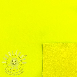 Softshell téli NEON yellow