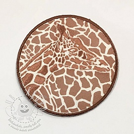 Sticker BASIC Giraffe bronz