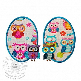 Sticker BASIC Owls 2 db PATCH