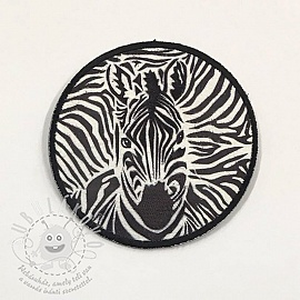Sticker BASIC Zebra b&w