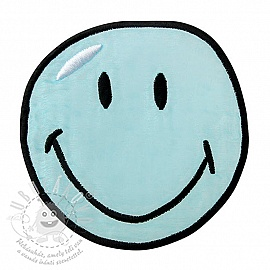 Sticker BIG Smiley blue