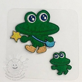 Sticker MIDI Frog family