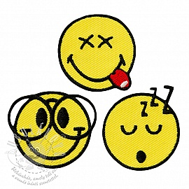 Sticker MIDI Smiley Cute