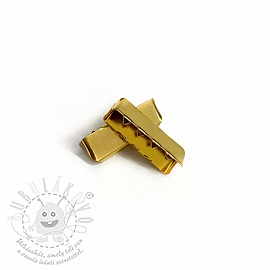 Szalagvég 25 mm gold