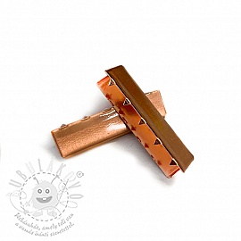 Szalagvég 40 mm copper