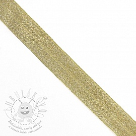 Szegőgumi glitter 20 mm yellow