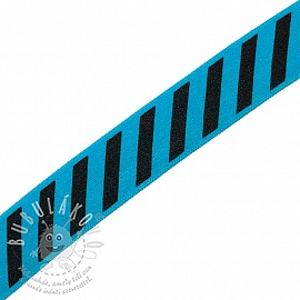 Szegőgumi STRIPE 20 mm aqua