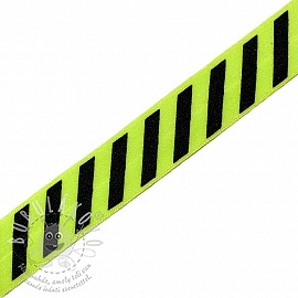 Szegőgumi STRIPE 20 mm lime