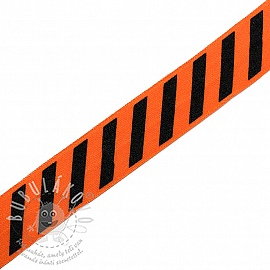 Szegőgumi STRIPE 20 mm orange