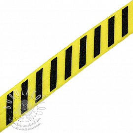 Szegőgumi STRIPE 20 mm yellow