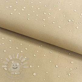 Víztaszító textil beige