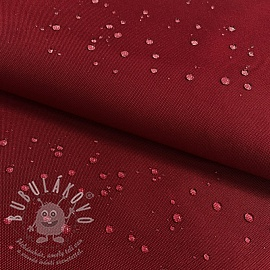 Víztaszító textil dark red