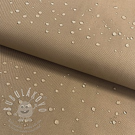 Víztaszító textil taupe